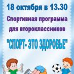Спортивная программа
